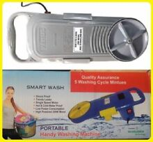 Portable Small Handy Washing Machine Compact Washer Switch   Timer Fast Cleaning