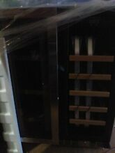 EdgeStar CWB1760FD Wine and Beverage Cooler with French Doors missing right door