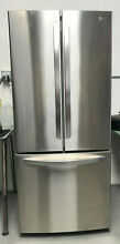 LG LFCS22520s Stainless Steel French Door Refrigerator 30 in  W 21 8 cu  ft