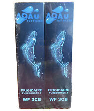 PACK OF 2   Aqau Fey FILTER WF 3CB Replacement FRIGIDAIRE Puresource 3