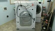 ELECTRIC WFf511AB and DV511A Washer and Dryer W Pedestals