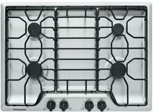 Frigidaire FFGC3012TS 30  Stainless Sealed 4 Burner Cooktop New LP kit included