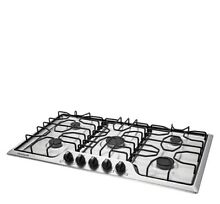 Frigidaire FFGC3612TS 36  Stainless  5 Burner Cooktop LP kit included Last Year