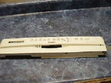 TESTED Kenmore Dishwasher CONTROL PANEL OFF WHITE BISQUE 8558923