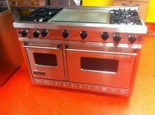 48  Viking Gas Range With Double Griddle VGIC4874GSS  Used