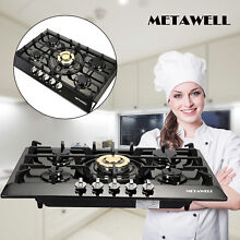 TOP 30  Stainless Steel 5 Burners Built In Stove Cooktop Gas NG LPG Hob Cooker