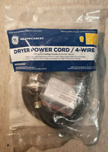 New GE Universal Dryer Power Cord  4wire 6  WX09X10020