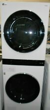 LG WashTower Stacked Laundry Center w  4 5 cu ft Washer and 7 4 cu ft Gas Dryer