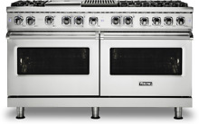 Viking VDR5606GQSS  60  Dual Fuel Range 6 Burners Grill   Griddle Stainless