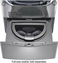 LG SideKick Pedestal Washer  Graphite  gray  New in Box   Shipping Available