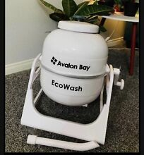 EcoSpin Portable Compact Manual Washer Top Load Washing Machine