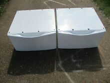 WHP1500SQ0 Whirlpool Duet Washer or Dryer Laundry Pedestal Pair 27x27x15