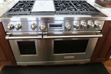48  Wolf Dual Fuel Range DF486G Pre Owned