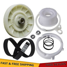 W10721967 Washer Pulley Clutch Kit   W10006384 Washer Drive Belt for Whirlpool