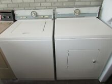 REFURBISHED ANTIQUE 1974 MAYTAG WASHER AND ELECTRIC DRYER MATCHING SET