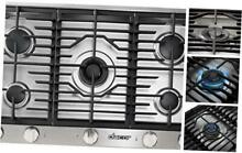 Dacor HCT365GSNG Heritage Series 36 Inch Natural Gas Cooktop with 5 Sealed