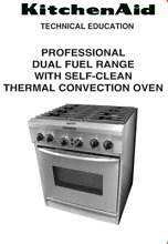 KitchenAid  KDRP407 HSS 30  Dual Fuel Convection Range   Stainless steel