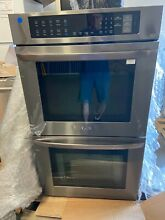 LG LWD3063BD 30  Black Stainless Steel Double Wall Oven