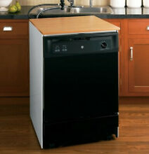 GE GSC3500D51BB PORTABLE DISHWASHER 24 INCH