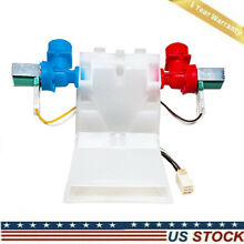 Washer Water Inlet Valve W10144820 for Whirlpool Kenmore AP4371093 PS2347919 OEM