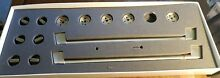 Cafe Control Gas Knobs   Handles Stainless Steel Set Range Stove GE Read Details