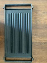 GE 30 in Gas Range GRILL   GRIDDLE   CAST IRON   genuine GE OEM stove part