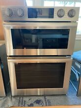 NEW SAMSUNG Chef Collection NQ70M9770DS 30  Electric Microwave Wall Oven Combo