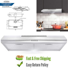 Cosmo Cos5mu36 36 in  under cabinet range hood w ducted  ductless convertible
