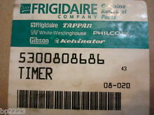 FRIGIDAIRE Whirlpool WASHER TIMER  Part  5300808686  808686  92839 1A  BRAND NEW