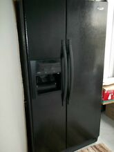Whirlpool ED5VHGXM 25 3 cu  ft  Side by Side Refrigerator
