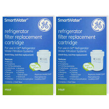 2 x Genuine Hotpoint GE MWF SmartWater Replacement Fridge Water Filters