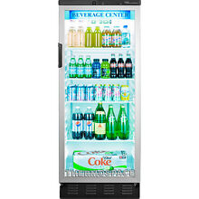 Commercial Reach In Glass Door Refrigerator  Beverage Cooler Merchandiser Fridge