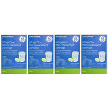 4 X GE MWF SMARTWATER  FRIDGE WATER FILTER CARTRIDGE FACTORY SEALED