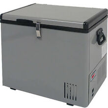 43 Qt Portable Chest Freezer   Refrigerator  EdgeStar Compact 12V Cooler Fridge