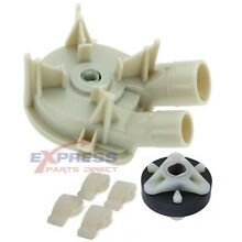 Drain Pump  Coupler Set for Whirlpool  Kenmore Washer WP3363394  285753A  80040