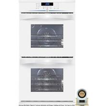 Kenmore Elite 27  White convection Double Wall Oven 48172    free shipping