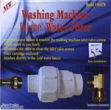 Washing Machine Inline Water Filter Sediment Screen 85470  1 EACH