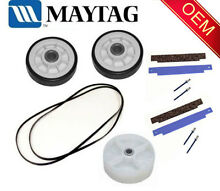MAYTAG AMANA ADMIRAL DRYER ROLLER BELT PULLEY GLIDE REPAIR KIT
