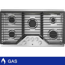 GE Profile Series 36  Built In Gas Cooktop in Stainless Steel MAX Burner System
