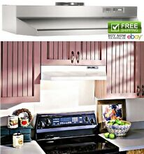 Kitchen Stove Smoke Extractor Cabinets Range Hoods Air Vent Cooking Ventilator
