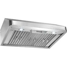 36  Under Cabinet Push Button Control Stainless Steel Kitchen Vent Range Hood