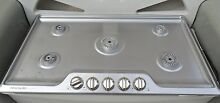 Frigidaire Gallery 36 Stainless Steel Gas Cooktop
