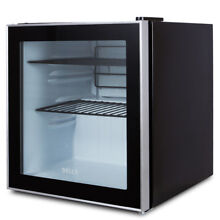 NEW Mini Beverage Fridge Built In Cooler Refrigerator  Reversible Door  Black