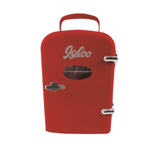 Igloo MIS129 RED Mini Retro Beverage Fridge