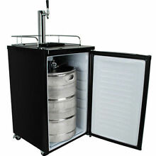 Full Size Keg Refrigerator  Draft Beer Kegerator Cooler Compact Dispenser Fridge