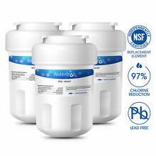 Fits GE MWF SmartWater MWFP GWF GWFA Comparable Refrigerator Water Filter
