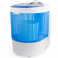Portable Washing Machine 8 6LBS Laundry Wash Spin Cycle RV Camping Mini 250 watt