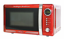 Nostalgia Electrics  50s Style  7 Cu  Ft  Microwave Oven  rmo770red