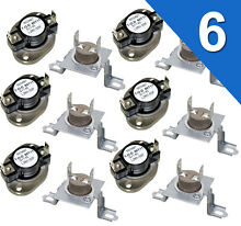 6 PACK  DC47 00018A   DC96 00887A for Samsung Dryer Thermal Fuse Thermostat