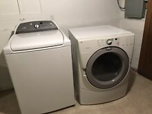 Whirlpool Cabrio HE Washer and Duet Dryer
